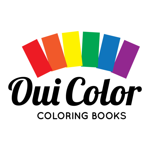 Oui Color Coloring Books